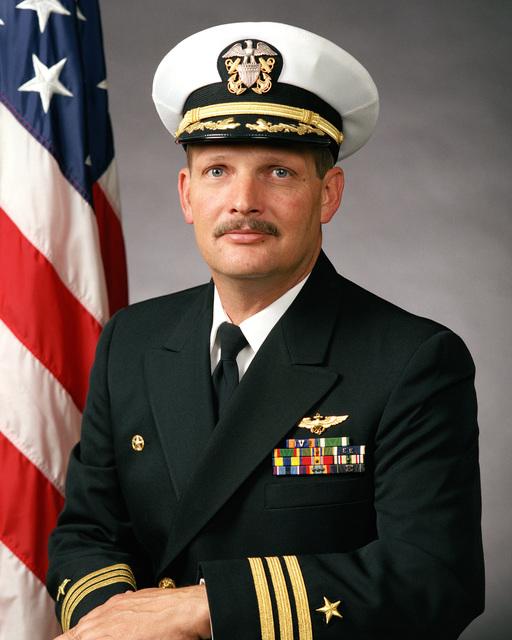 Commander Steven C. Gaylor, USN (covered)