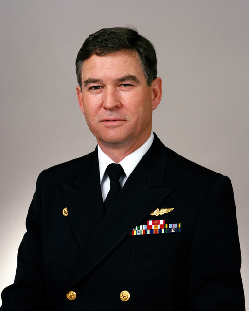 RDML (lower half) Dennis I. Wright selectee (uncovered)