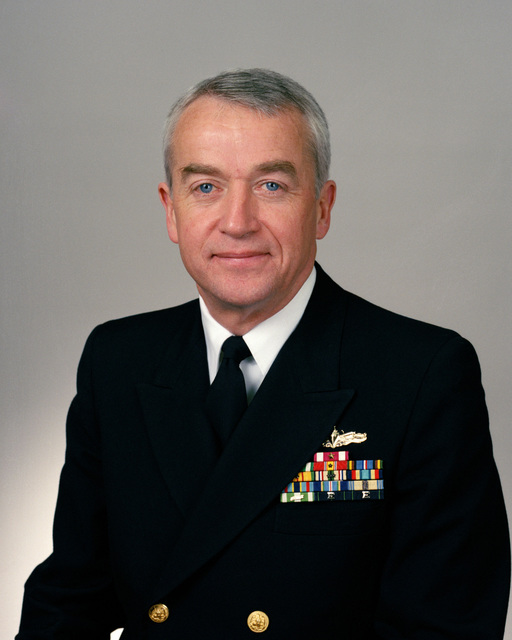 RDML (lower half) G. Dennis Vaughan selectee (uncovered)