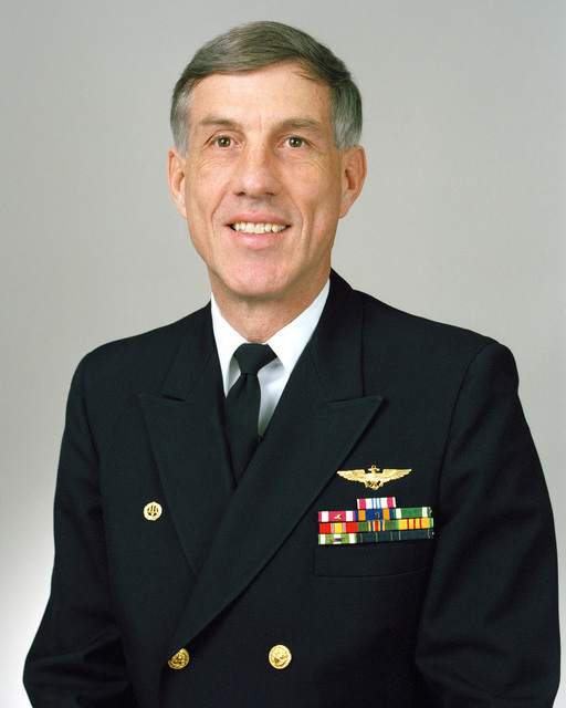 Rear Admiral (lower half) Barton D. Strong, USN selectee (uncovered)