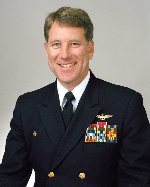 Rear Admiral (lower half) Charles S. Abbot, USN selectee (uncovered)