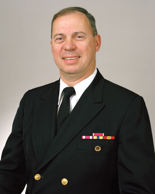 Rear Admiral (lower half) David S. Frost, USN selectee (uncovered)