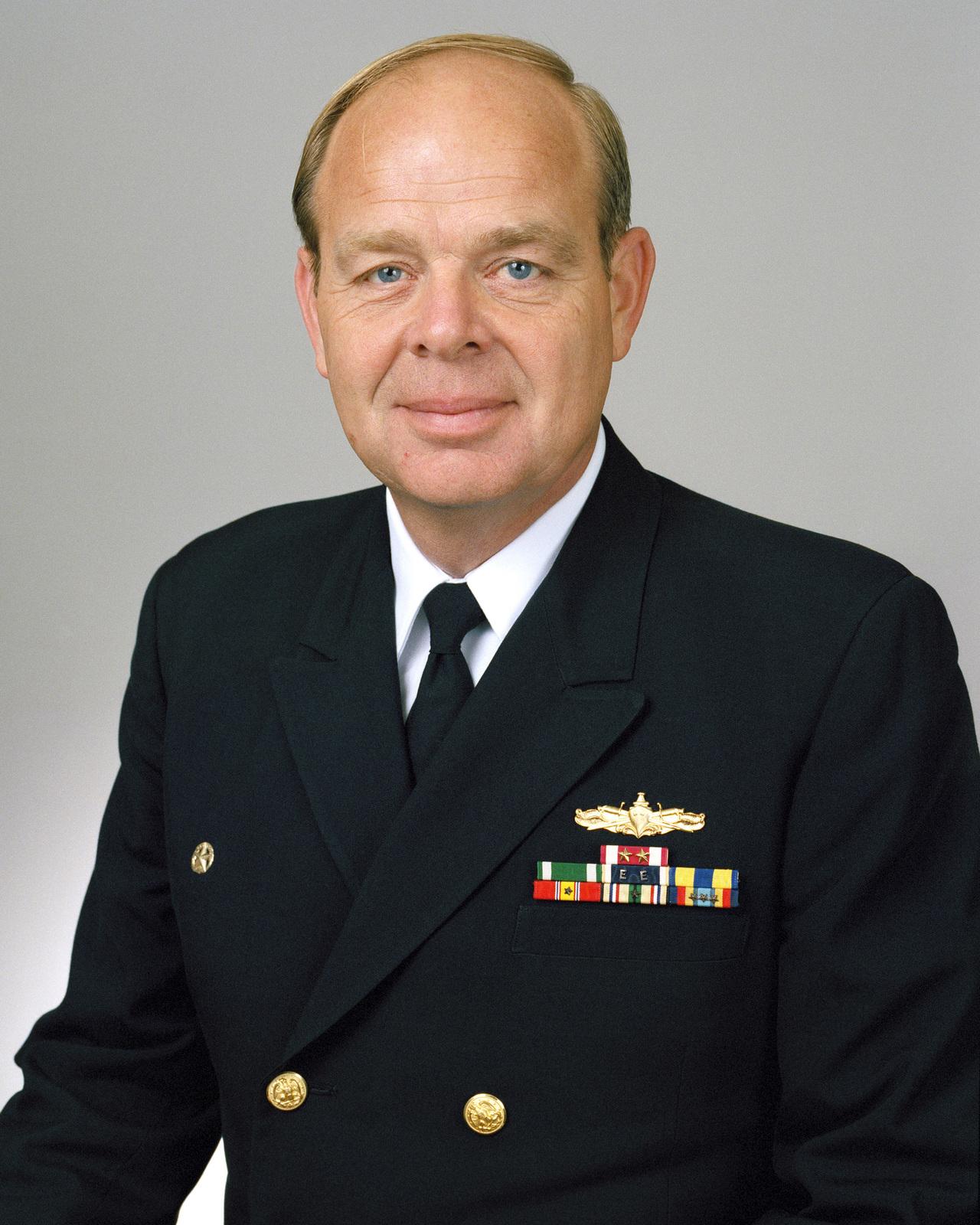 Rear Admiral (lower half) Edward K. Kristensen, USN selectee (uncovered)