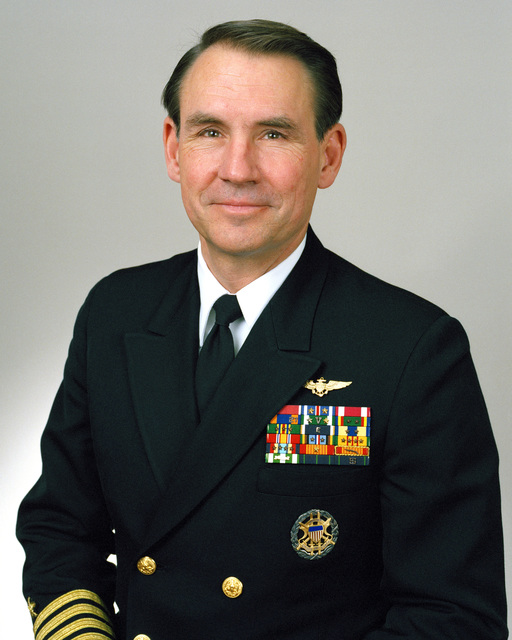 Rear Admiral (lower half) Ernest E. Christensen Jr., USN selectee (uncovered)