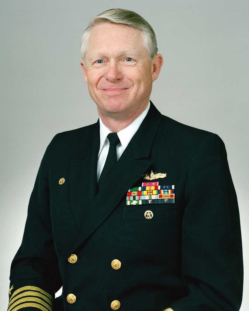 Rear Admiral (lower half) Francis W. Harness, USN selectee (uncovered)