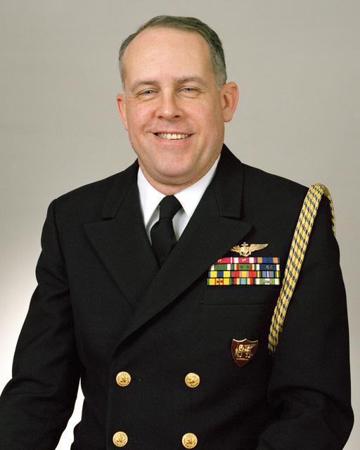 Rear Admiral (lower half) Frank M. Dirren Jr., USN selectee (uncovered)