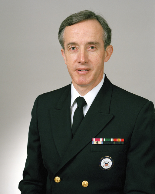 Rear Admiral (lower half) Fred S. Glass, USN selectee (uncovered)