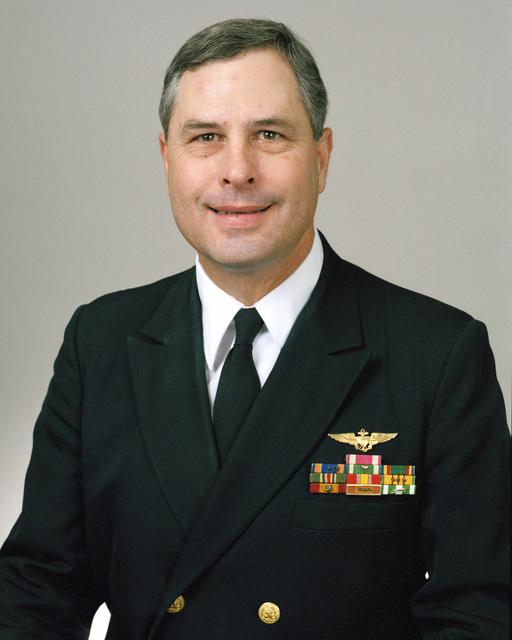 Rear Admiral (lower half) Glenn P. Phillips, USN selectee (uncovered)