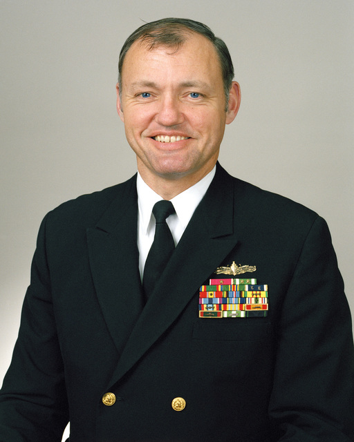 Rear Admiral (lower half) Henry C. Griffin III, USN selectee (uncovered)