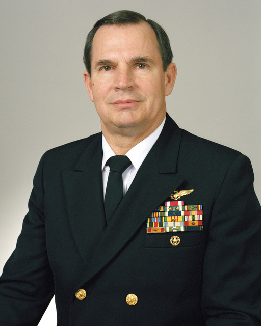 Rear Admiral (lower half) Kenneth L. Fisher, USN selectee (uncovered)