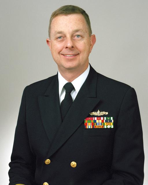 Rear Admiral (lower half) Lee F. Gunn, USN selectee (uncovered)