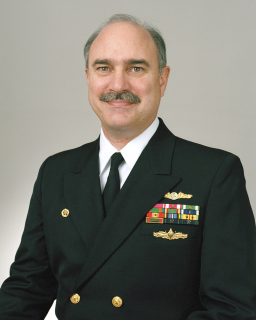 Rear Admiral (lower half) Lewis A. Felton, USN selectee (uncovered)