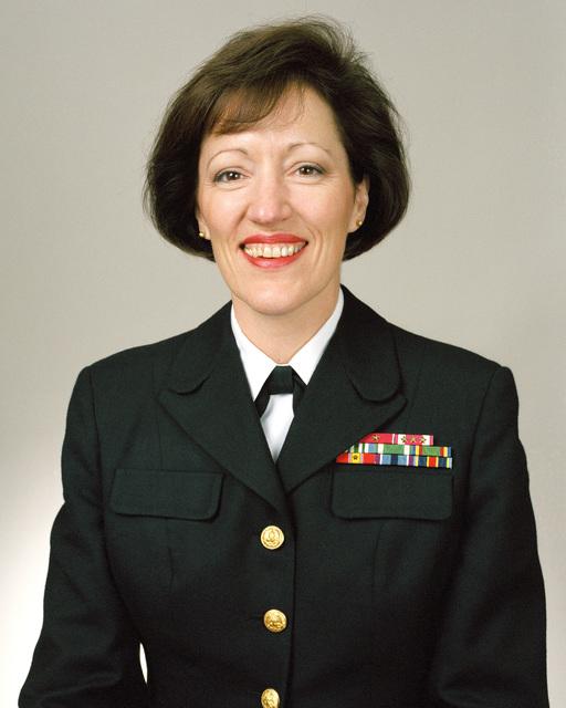 Rear Admiral (lower half) Marsha J. Gerard Evans, USN selectee (uncovered)