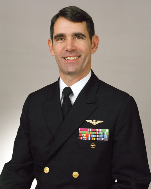 Rear Admiral (lower half) Michael D. Haskins, USN selectee (uncovered)