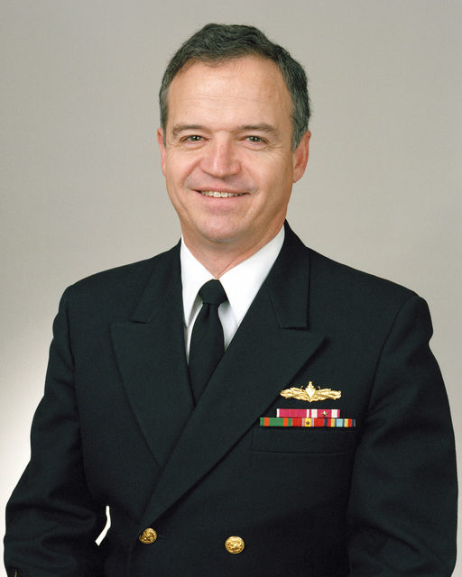 Rear Admiral (lower half) Paul M. Robinson, USN selectee (uncovered)