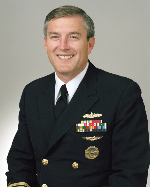 Rear Admiral (lower half) Ralph M. Mitchell Jr., USN selectee (uncovered)