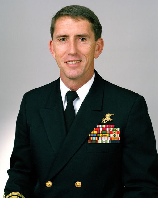 Rear Admiral (lower half) Raymond C. Smith, USN selectee (uncovered)