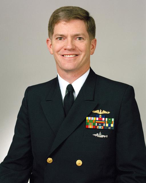 Rear Admiral (lower half) Richard A. Buchanan, USN selectee (uncovered)