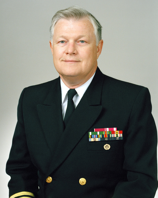 Rear Admiral (lower half) Robert C. Crates, USN selectee (uncovered)