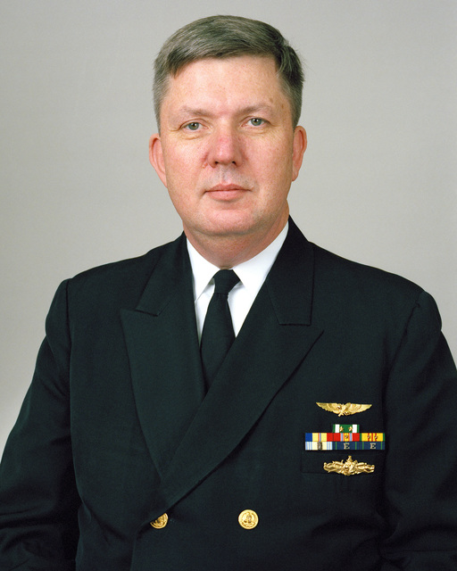 Rear Admiral (lower half) Robert C. Stack, USN selectee (uncovered)