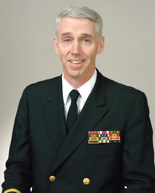 Rear Admiral (lower half) Robert M. Gallen, USN selectee (uncovered)