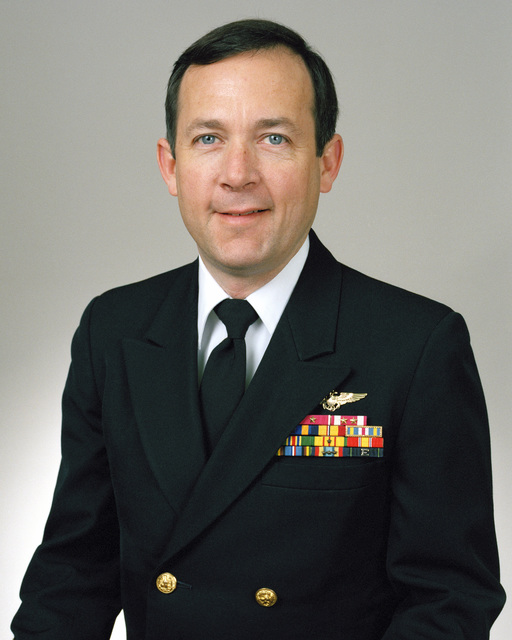 Rear Admiral (lower half) Robert M. Nutwell, USN selectee (uncovered)
