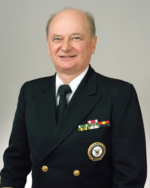 Rear Admiral (lower half) Roger G. Gilbertson, USN selectee (uncovered)