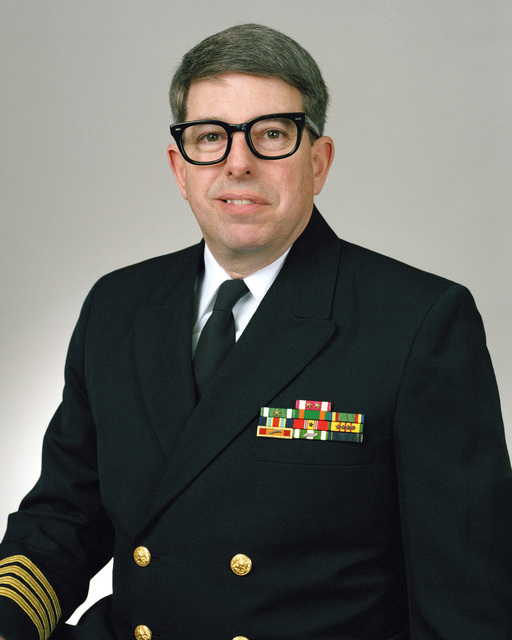 Rear Admiral (lower half) Stephen T. Fisher, USN selectee (uncovered)