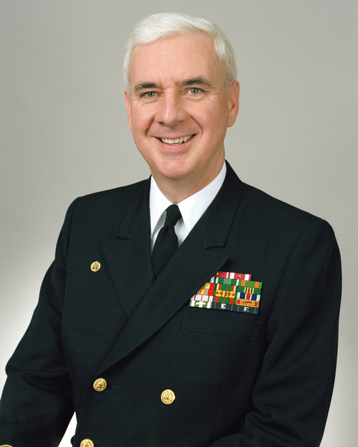 Rear Admiral (lower half) Thomas A. Dames, USN selectee (uncovered)