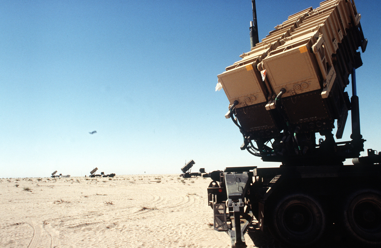 Patriotic missile batteries