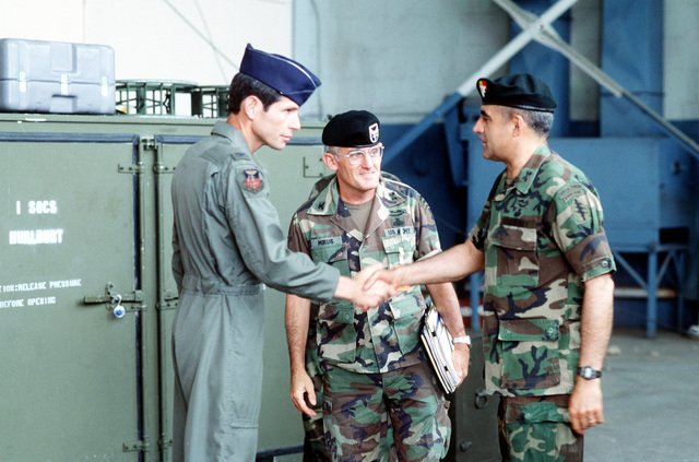 COL Schwartz takes COL Mirus of Special Operations Command