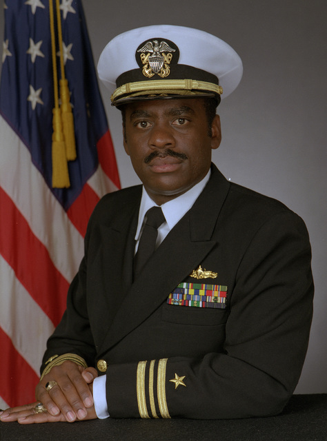 LCDR Anthony W. Jiles, USN (covered)