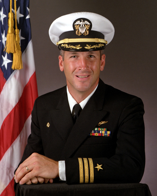 CDR Peter A. Cornell, USN (covered)