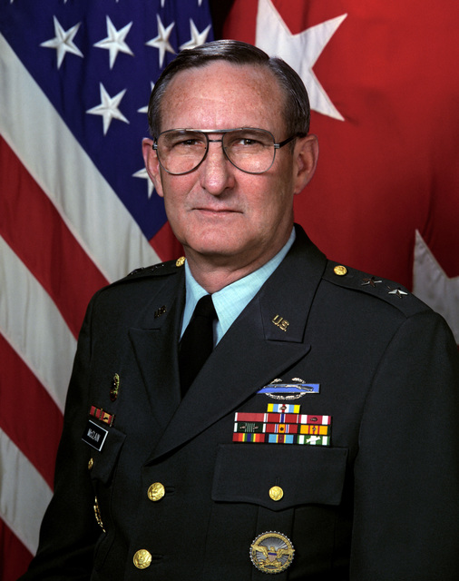 Portrait of U.S. Army MAJ. Gen. Chas W. McClain, Jr., (Uncovered), CHIEF, Public Affairs. (U.S. Army photo) (Released) (PC-191993)