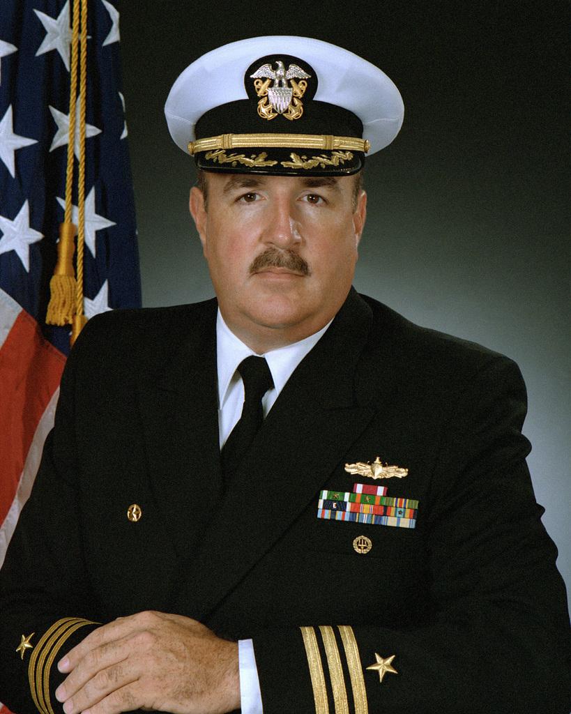 CDR Edward B. Weiss, USN