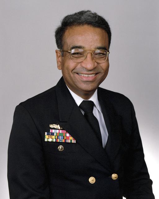 Rear Adm. (lower half) Edward J. Moore, USN selectee (uncovered)