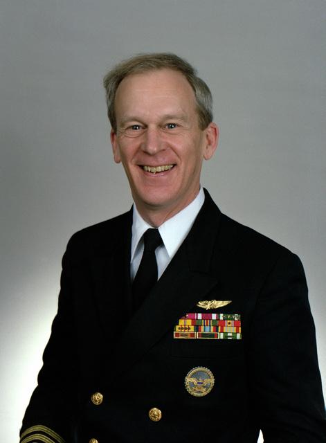 Rear Adm. (lower half) Edward R. Chamberlin, USN selectee (uncovered)