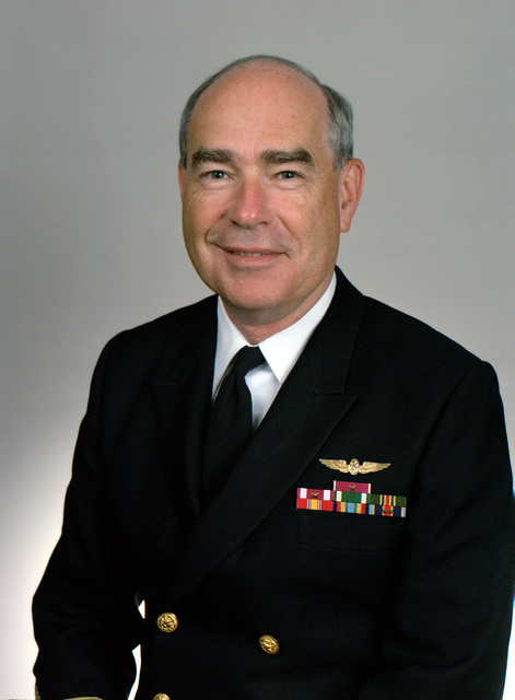 Rear Adm. (lower half) James H. Black, USN selectee (uncovered)