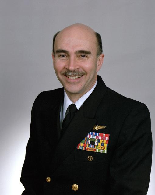 Rear Adm. (lower half) Joseph F. Mobley, USN selectee (uncovered)