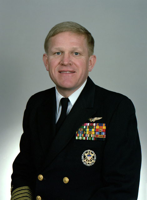Rear Adm. (lower half) Lyle G. Bien, USN selectee (uncovered)