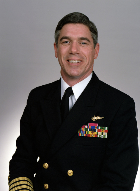 Rear Adm. (lower half) William V. Cross, USN selectee (uncovered)