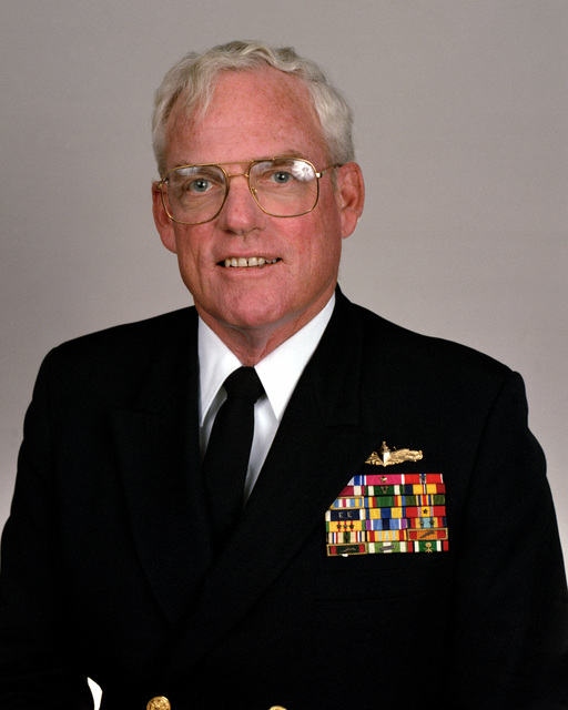 Rear Adm. (lower half) Wirt R. Fladd, USN selectee (uncovered)