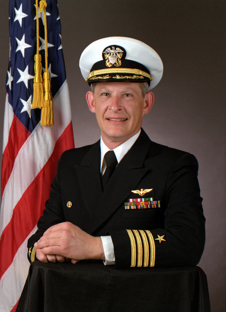 CAPT. Frank M. Gallie, USN (covered)