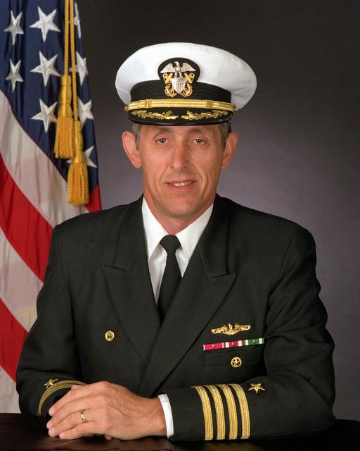 CAPT. David I. Stanley, USN (covered)