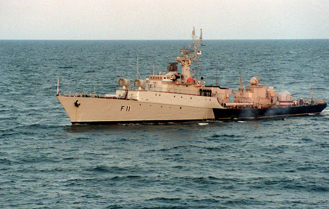 A port bow view of a Lithuanian navy Grisha class frigate during exercise BALTOPS '93. For the first time in the 22-year history of BALTOPS, the Eastern European countries of Estonia, Latvia, Lithuania, Poland and Russia were invited to participate in the non-military phases of the exercise
