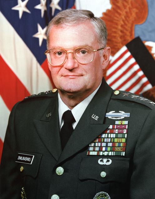 GEN. John M. Shalikashvili, USA (uncovered)