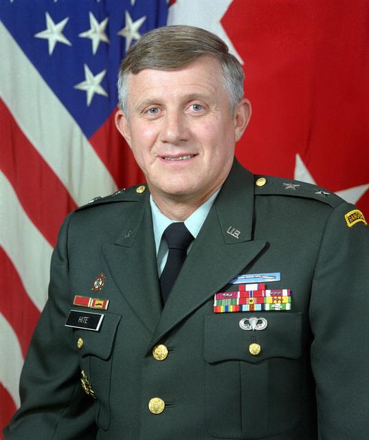 MAJ. GEN. Ronald V. Hite