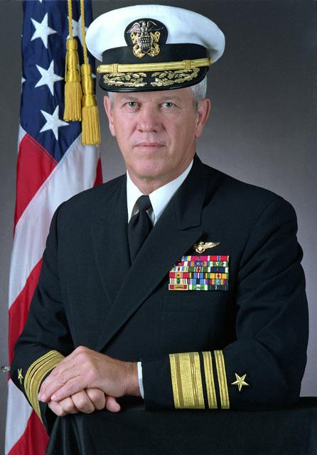 Vice Admiral Robert J. Spane, USN