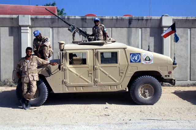 Bosnia militia owned radio antenna located near site