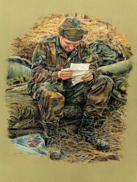 2 Minutes at Home Artist: STAFF SGT. Brian Fairchild